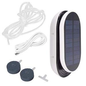 Oxygénateur à énergie solaire, oxygène à 3 niveaux, pompe à air, aérateur d'aquariums, oxygénateur à énergie solaire