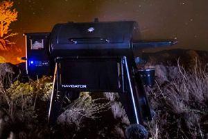 Pit Boss Navigator 1150 Barbecue à Pellet Acier Noir 162 x 94 x 119 cm avec écran numérique
