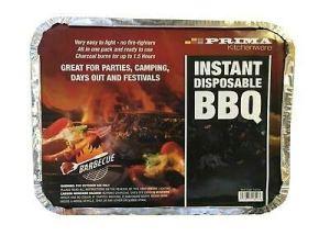 Prima Barbecue jetable à lumière instantanée