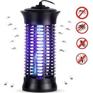 Spalexe Lampe Anti-Moustique, UV Moustique Tueur Lampe, Électrique Tueur de Moustique Tueur D'insectes Mouches Piège Anti Insecte Zapper pour Maison et Jardin