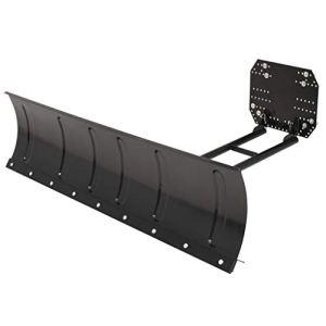 vidaXL Chasse-neige pour VTT 150×38 cm Noir Pelles à Neige Garage Trottoirs