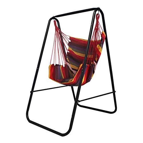 Yuanyuanliu Paniers Suspendus Swing Chaise À Bascule Domestique en Intérieur Support Pivotant for Enfants (Color : C)