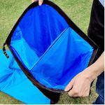 Yuanyuanliu Sacs Gonflables Canapé Lit Portable Air Gonflable Hamac Simple sans Camping en Plein Air Matelas d'air De Camping (Color : Purple)