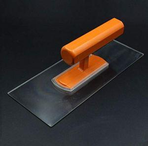 2 pcs 22×9 cm truelle en plastique Ciment Plâtrage Carreaux Grattoir À Main Béton Finition Truelle Outil