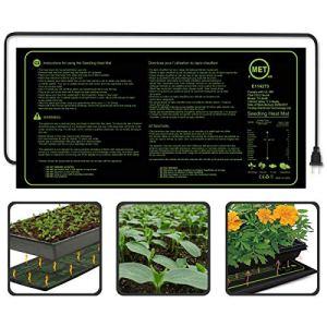 """AIMCAE Coussin Chauffant pour semis de semis de Plantes imperméable à l'eau pour Tapis de semis, Germination, enracinement, Fermentation et Reptiles,48"""" X 20"""""""