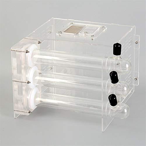 Béton Dazzle Bambou Tube M flammé 3 Castle Test Nest Nest Ant Atelier Clear Water Craftsman Ant Farm (Color : White)