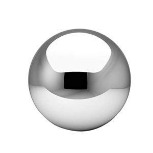 Boule de jardin Buyfunny01 – En acier inoxydable – Pour décoration de jardin, Pas de zéro, Voir image, 80mm