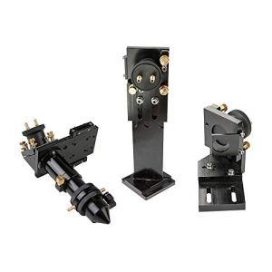 Cloudray Tête laser CO2 avec interface de refroidissement à eau 1 er support de miroir et 2 support de rétroviseur