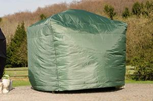 CLP Housse de protection pour balançoire Hollywood Kenya, dimensions environ: largeur 260 cm, profondeur 170 cm, hauteur 240 cm vert