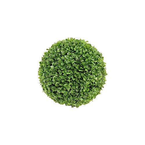 MICA Decorations Buxus Boule Verte imperméable et résistante aux UV – D30 cm