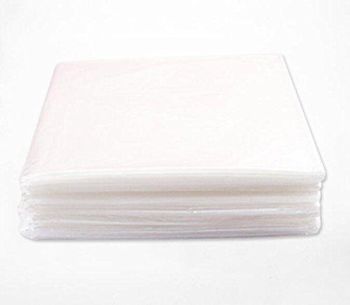Vogvigo Lot de 50 Feuilles en Plastique pour enveloppe de Corps 119,4 x 82