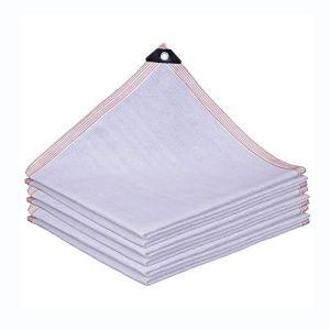 XLD Filet coupe-vent en tissu de qualité supérieure avec œillets (2 x 2 m) pour clôture en plastique résistant aux UV, 2*3m