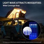 ZYF LampeAnti-Moustique électrique avec lumière LED, Tueur d'insectes avec capteur d'inhalateur pour la Maison Chambre bébé Cuisine Bureau Utilisation