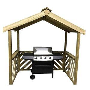 Abri en bois pour barbecue Anchor Fast Exmouth –