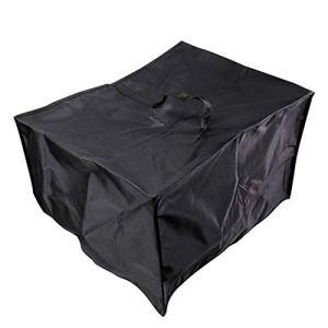Cylficl Housse Table de Jardin Four Micro-Ondes Hotte, Cache Anti-poussière Domestique, Anti-âge Couvre-Meubles imperméables, 52X40X31CM, Feuille d'aluminium