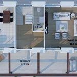 DAHIR INSAAT La Maison modulaire 2 x 5 100 m2