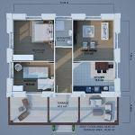 DAHIR INSAAT Le Modular Maison 89 m2