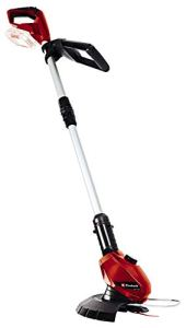 Einhell Coupe-bordures sans fil sur batterie GE-CT 18 Li Solo Power X-Change (18 V,Diam. de coupe lame 24 cm,Livré avec 20 lamelles en PVC) VERSION SOLO, LIVRE SANS BATTERIE NI CHARGEUR