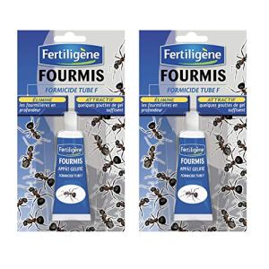 FERTILIGENE Anti Fourmis, Lot de 2 Tubes Gel 30 grammes