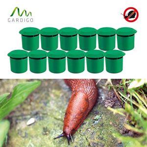 Gardigo – Pièges à Limaces Escargots; Méthode de la Bière; Pack de 12