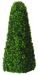 Gardman 02805 Décoration Extérieure Obélisque Topiaire à Effet Feuille 20 x 20 x 20 cm