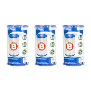 Intex Piscine facile Lot de cartouche de filtre–Type B (lot de 3) | 29005e (59905e)