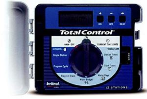 Irritrol 653024 Programmateur Total Control 24 Stations Digital 4 Programmes indépendants, 220 Vac x 24 Vac