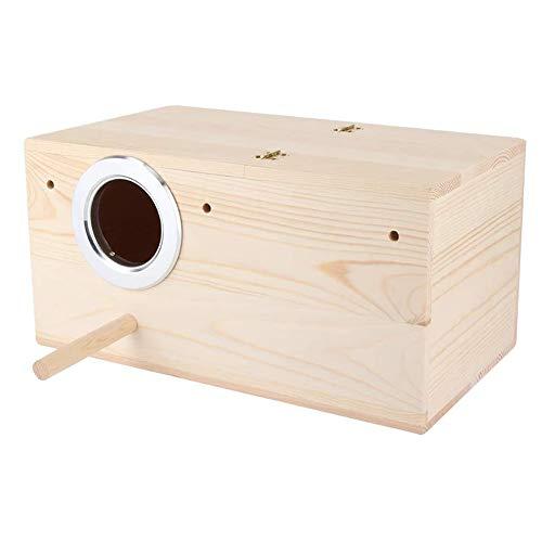 KSTORE Oiseaux Animaux Reproducteurs Boîte Oiseaux en Bois Durables Nichoir Perruches Oiseaux Nicheurs Maison Jardin Jardin Décoration,29 * 15 * 15cm
