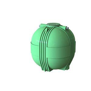 Multitanks – Ecobase cuve de stockage d'eau de pluie basique – 8000 L