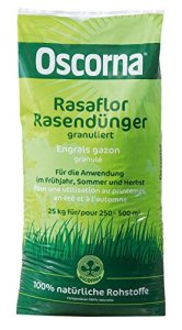 Oscorna 425rasaflor Engrais pour Gazon en granules, 25kg