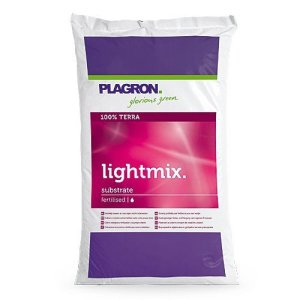 Plagron light mix substrat de culture 50 sans perlites