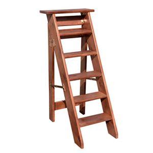 SYK Étape Se Pliante, échelle de chêne d'escalier à la Maison appropriée au Jardin à la Maison Clair d'enfants et d'adultes