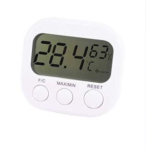Trixes – Thermomètre digital LCD, fonction hygromètre, mesure l'humidité