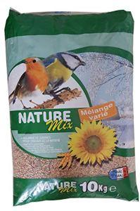 Agrobiothers Nourriture Nature Mix 10 Kg pour Oiseaux et Animaux Sauvages