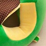 Bébé Canapé, Sundlight bébé support de chaise Canapé en peluche et coton PP Animal Protège Oreiller Coussin assis Canapé pour 0–2ans bébé
