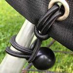 Bosmere D775 Storm Black Housse pour Fire Pit Carré Noir Grand 84 x 84 x 50 cm