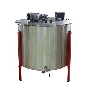 cjcaijun Miel extracteur Apiculture Outils 24 châssis d'exportation en Acier Inoxydable électrique Honey Agitateur Automatique Centrifugeuse Seaux Shaker