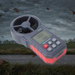 Compteur de vitesse du vent, anémomètre Bluetooth USB portable, pour les amateurs de plein air