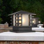 Continental Victoria Rétro LED Lampe de table extérieure Villa étanche Balcon Fermer Lampe à colonne Lampe de bureau Verre en aluminium Lumière noire E27 Décoration Lumières de jardin L mpar
