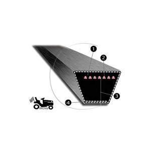 Courroie de tondeuse MITSUBOSHI 4L 71 pouces Super Kevlar renforcé