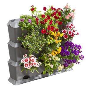 Gardena Natureup! Kit de Base Vertical: Mur Végétal pour la Végétalisation Verticale de Balcons / Terrasses / Cours Intérieures, Kit de Base de 9 Plantes, Résistant aux Intempéries (13150-20)
