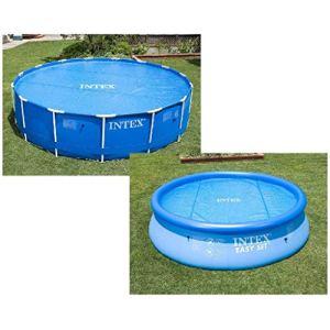 Intex 29021 Bâche à bulles, Bleu, 290 X 290 X 1 cm