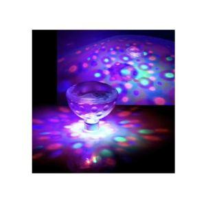 Lot de 2 lampes LED disco flottantes/immergées pour bain, spa, piscine