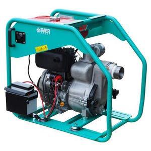 Motopompe diesel pour eaux très chargées débit 1150 l/min WORMS