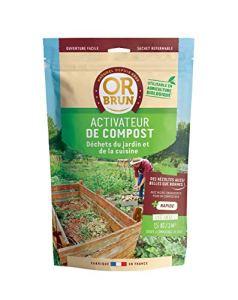Or brun activateur de Compost UAB, Sachet de 1,5kg Engrais, Non Applicable