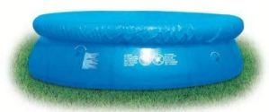 Pour Piscine Fast Set 12cm rond bleu. Imperméable. Pour garder votre piscine propre et nette.