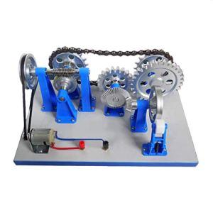 QWERTOUR Surwish Transmission mécanique Modèle Physique Expérience Scientifique Équipement d'enseignement Instrument expérience modèle d'enseignement