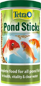 Tetra Pond Sticks, Complete Fish Food for All Pond Fish, 1 Litre