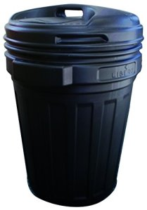 Zen-Kat Storagebucket 70 liter Black with swing-lock