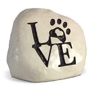Amour et Une Patte. gravé dans Une Lourde Little Rock–Livré dans Une Boîte Cadeau Robuste